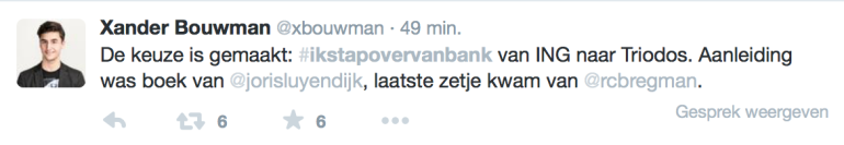 overstappen van bank - ikstapovervanbank - toekomt.nl
