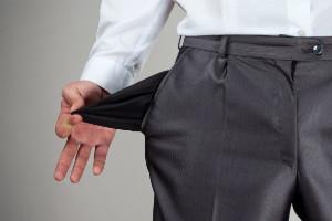 bijna met pensioen - lege zakken - toekomt