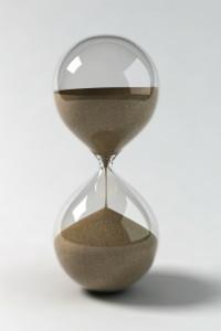 zandloper - sparen voor je pensioen - toekomt