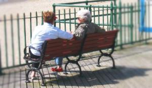 contact met collega's - pensioen - toekomt