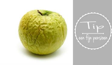hoe word je mooier oud - voeding, appel - met pensioen - toekomt.nl