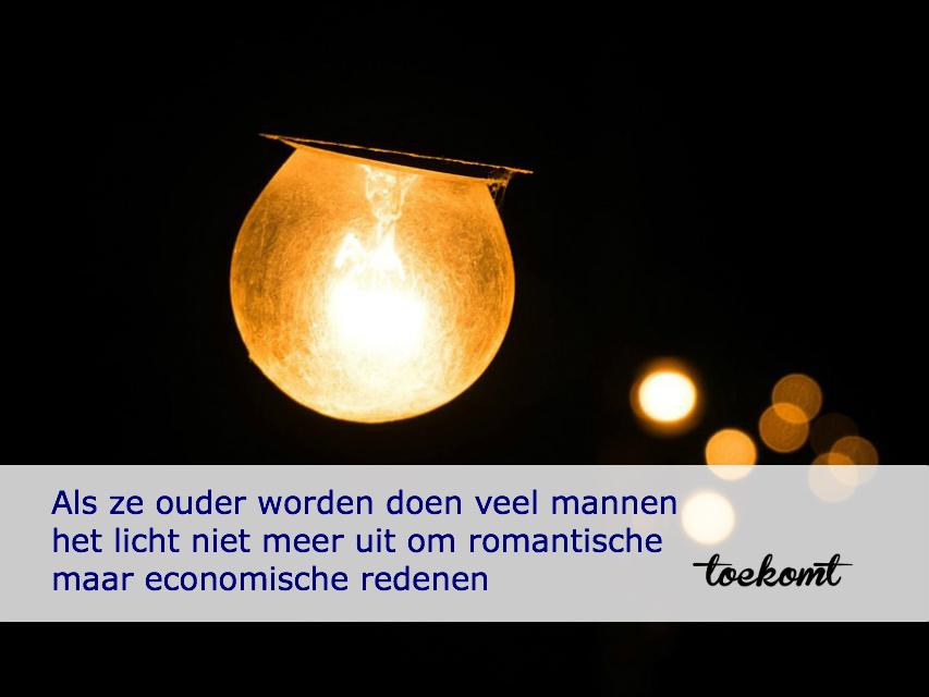 licht uit economisch romantisch - toekomt.nl